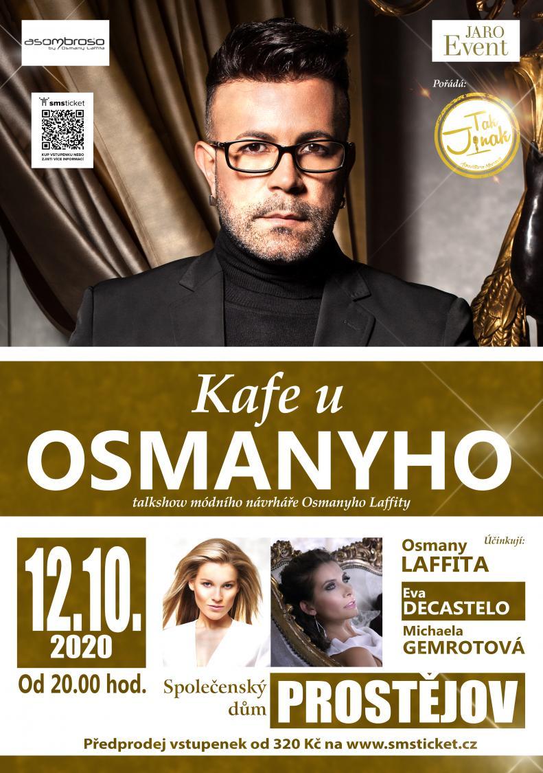 Kafe u Osmanyho - 12. 10. 2020 od 20.00 hod