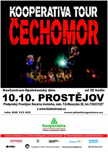 KOOPERATIVA TOUR - Čechomor - 10. 10. 2020 od 20.00