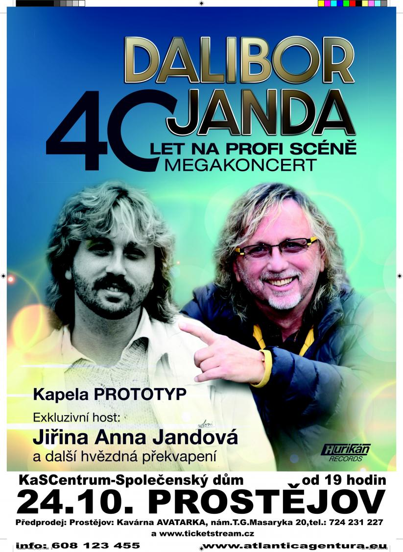 Megakoncert Dalibor Janda - 16. 10. 2021 od 19.00