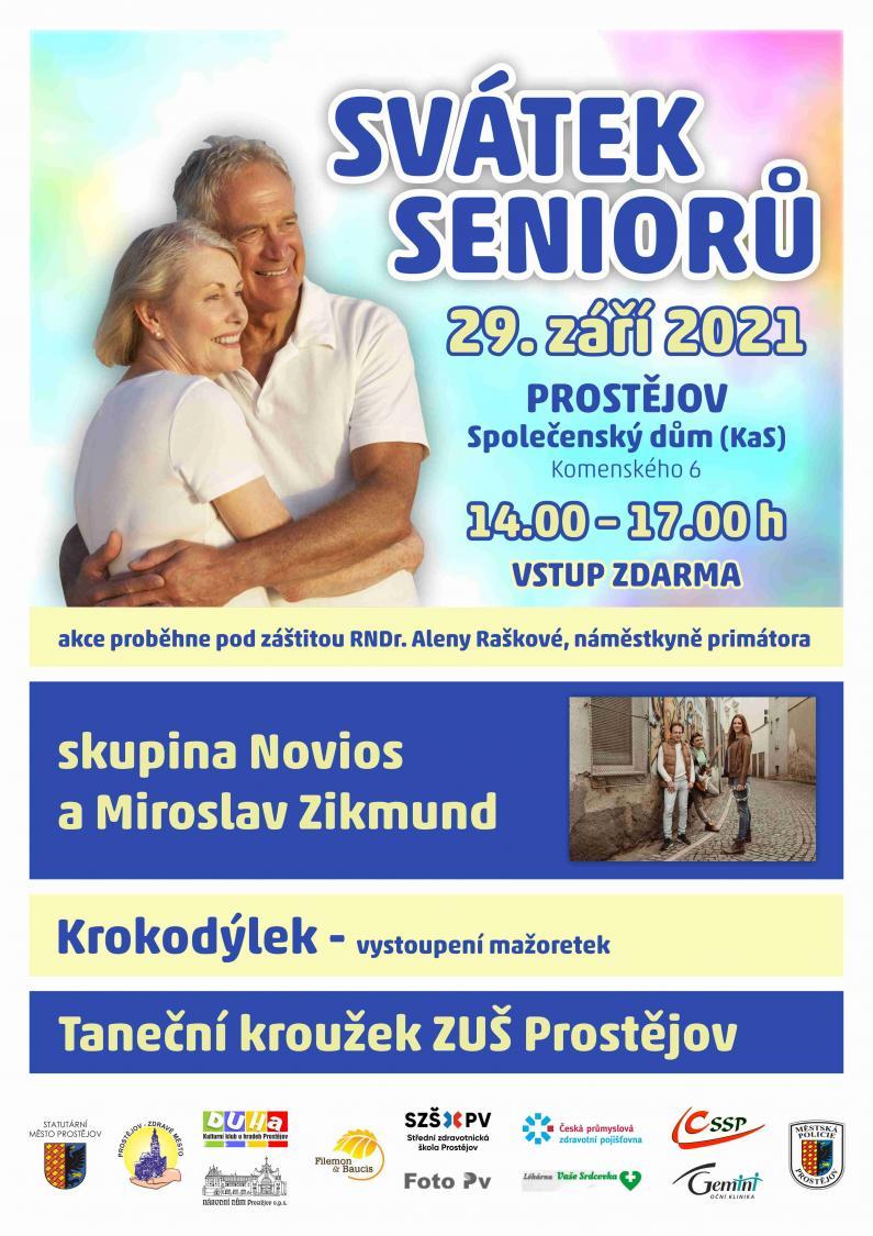 Svátek seniorů - 29. 9. 2021 od 14.00